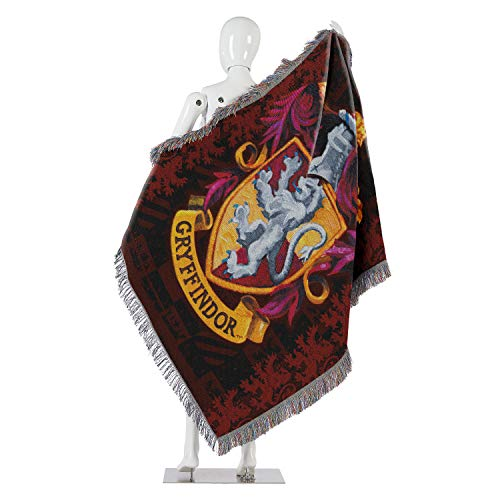 harry potter woven tapestry throw blanket. Black Bedroom Furniture Sets. Home Design Ideas