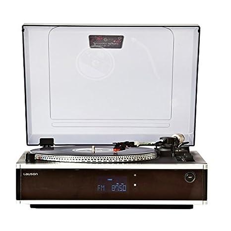 Lauson CL136NEGRO - Tocadiscos, grabación desde la radio, vinilo ...