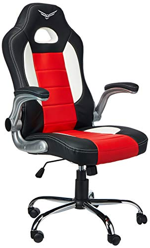 Naceb Technology NA-0906R Silla Gamer, color Roj
