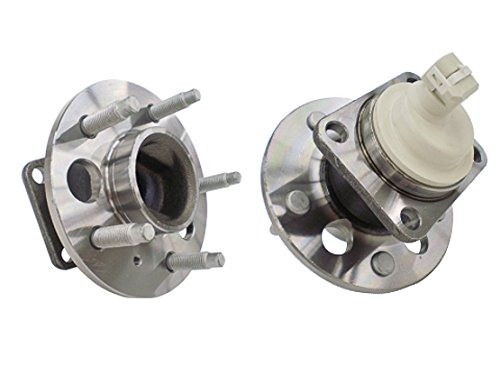 (Callahan C512237X2 [2] Pair REAR Premium Grade [ 5 Lug 2WD 4-Wheel ABS ] Wheel Hub Bearing Assemblies [ 512237 ])