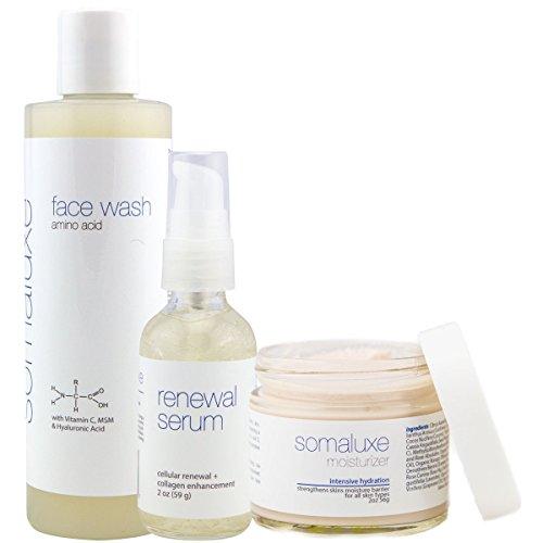 Collagen Daily Facial - Amino Acid Face Wash, Renewal Serum