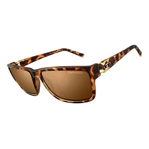 Tifosi 2016 Hagen Polarized Sunglasses, X-Large, Matte Tortoise