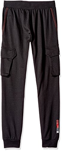 RBX Big Boys' Active Cargo Pant, Midnight, L(16/18)