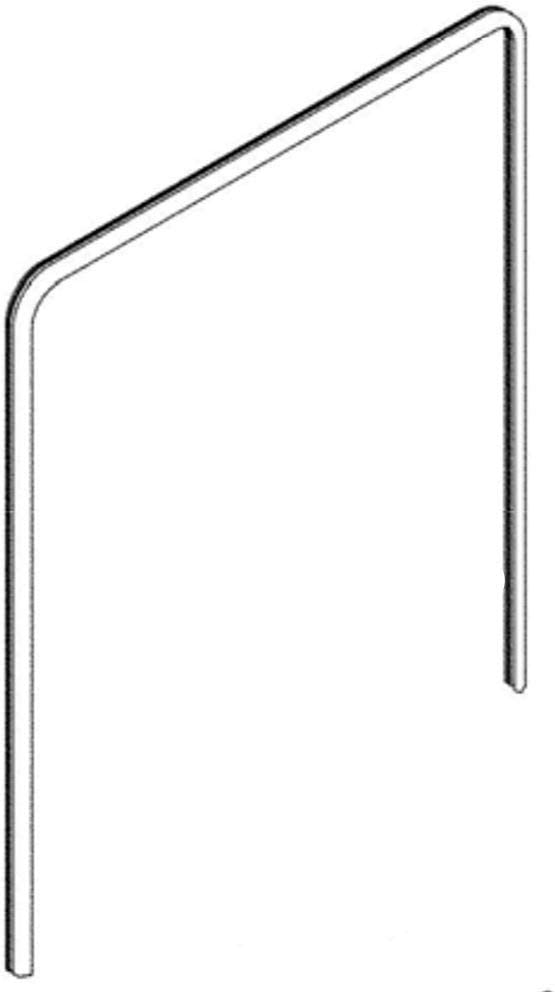 Frigidaire 117158011 Door Seal