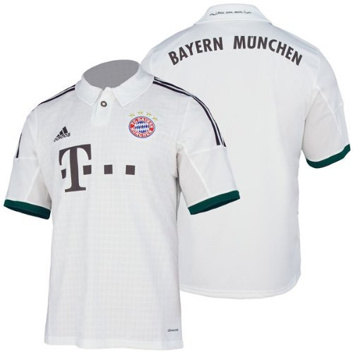 Adidas - Camiseta de fútbol para adulto (segunda equipación), diseño del Bayern de Múnich: Adidas: Amazon.es: Deportes y aire libre