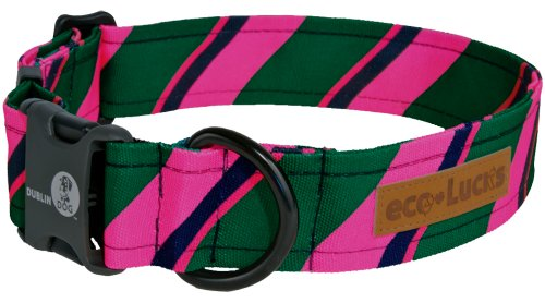 "eco-Lucks Dog Collar, Socialite, Large 15"" x 24"""