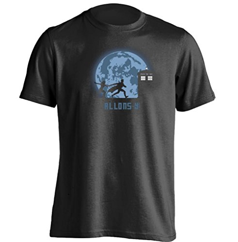 Allons-y Doctor Who Tenth Doctor Costume let's go Unisex Custom T Shirt - Need Doctor Who Costume Ideas