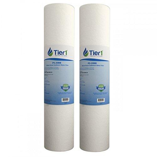 Tier1 DGD-5005-20 5 Micron 20 x 4.5 Spun Wound Polypropylene