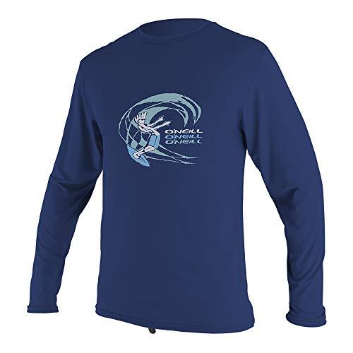 (O'Neill Wetsuits Toddler O'zone Long Sleeve Sun Shirt, Navy, Size 3)