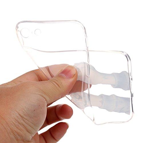 Crisant Fick dich Drucken Design weich Silikon TPU schutzhülle Hülle für Apple iPhone 7 4.7'' (4,7''),Premium Handy Tasche Schutz Case Cover Ultra thin transparent Crystal Bumper Schale für Apple iPho