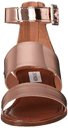 Steve Madden Donne Daly Vestito Sandalo Oro Rosa