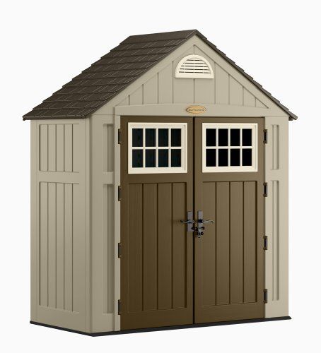 Suncast 7.5x3.5 Ft Alpine Shed (Large Image)