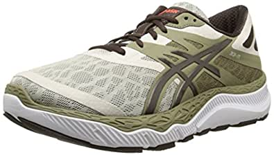 ASICS Men's 33-M Running Shoe, Khaki/Coffee/Orange,7 M US