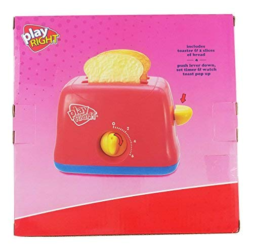 Play Right Kitchen Appliance Playset Toaster