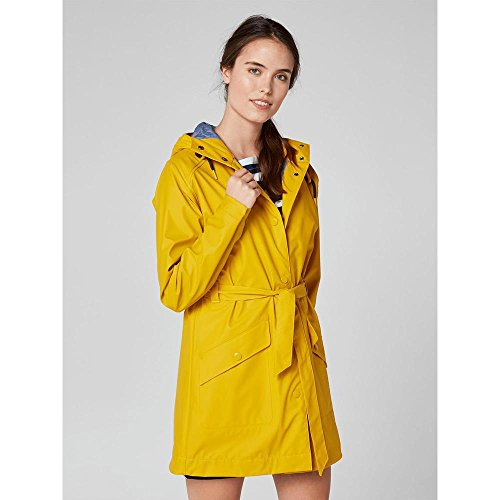 Manteau Femme Helly Essential Yellow Rain Kirkwall Hansen OtOxp1qHw4