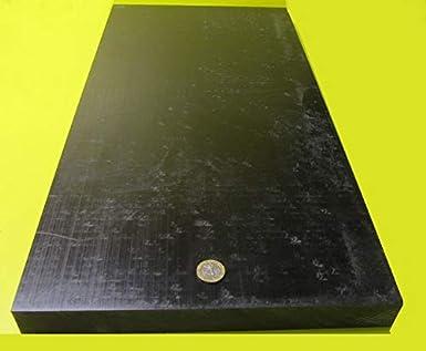 "Delrin POM Acetal Black Sheet 1.25/"" Thick x 12/"" x 12/"" 1 1//4/"""