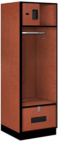 Salsbury Industries Open Access Designer Wood Locker, 24-Inch, ()