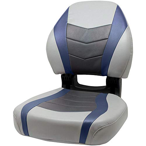 Overton's Torsa Pro Elite Boat Seat Marble/Midnight/Charcoal