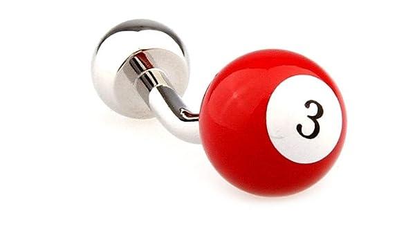 Gemelolandia - Gemelos billar bola nº 3 roja de forma redonda ...