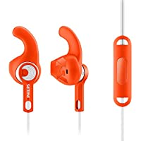 Philips SHQ1305OR/27 ActionFit Sports Headphones with Mic (Orange)