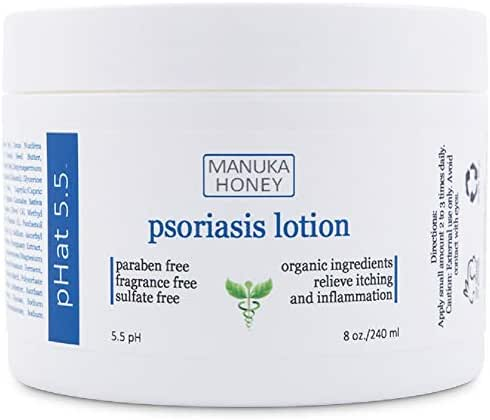 Cream for Psoriasis Anti Itch Treatment to Relieve Psoriasis Symptoms Like Dry Patches, Flakes, Rash and Scales - With Coconut Oil For Itch Relief (8 oz)