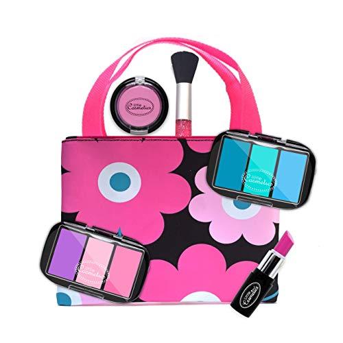 Little Cosmetics Pretend Makeup Glamour Set Kids Girls Toy F