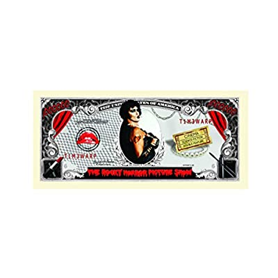 American Art Classics Rocky Horror Picture Show Million Dollar Bill in Collector Grade Currency Holder: Toys & Games