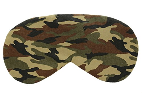 Sleeping Sheep Cute Sleep Mask (Camouflage Pattern) Comfortable Face Blindfold Cotton Soft and Smooth Eyeshade Eye Mask Sleeping Mask for Men or Women (Pink Mask Sleep Fuzzy)