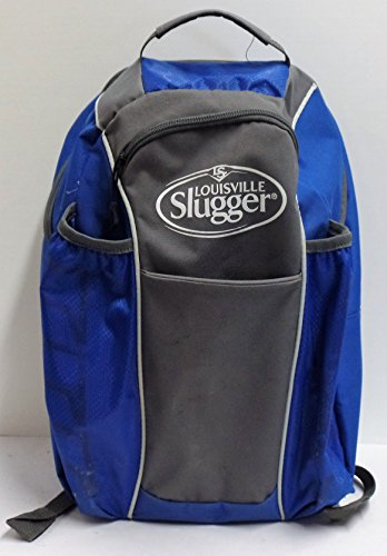 Preowned Louisville Slugger Softball or Baseball Bat Bag Backpack - Holds 2 Bat, Glove and ()