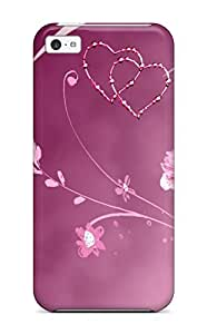 Tpu Case Cover Compatible For Iphone 5c/ Hot Case/ Butterfly
