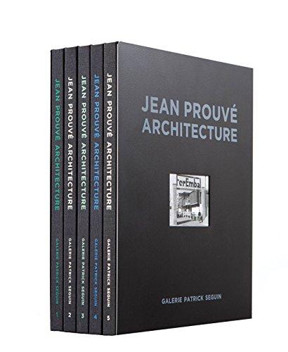 Jean Prouvé: 5 Volume Box Set by Edition Galerie Patrick Seguin