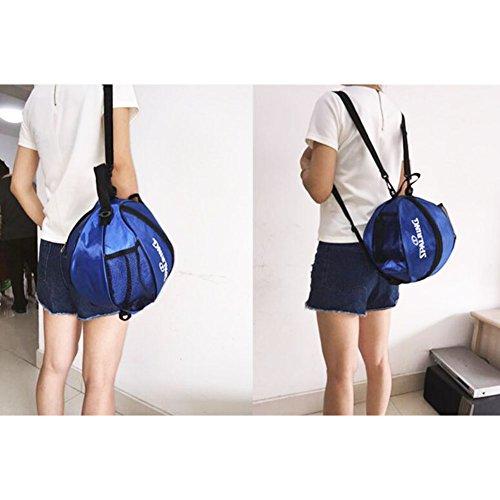 George Jimmy Fashion Cool Basketball Bag Training Bag Single-shoulder Soccer Bag-02 by George Jimmy (Image #1)