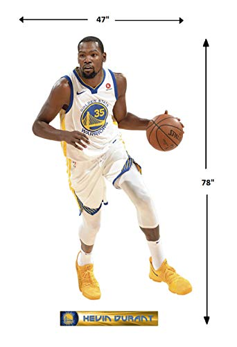 0e115df3ac08 FATHEAD NBA Golden State Warriors Kevin Durant Kevin Durant- Officially  Licensed Removable Wall Decal