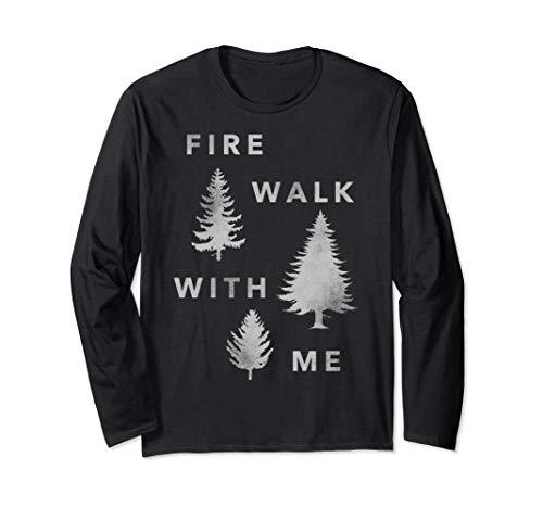 Twin Peaks Fire Walk With Me Tree Silhouette Long Sleeve (Twin Peaks Fire Walk With Me Ost)
