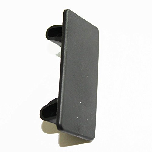 X-Haibei 1 Rocker Switch Panel Switch Holder Blanking Plate Cover Black Plastic