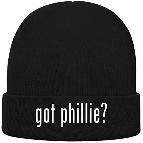 One Legging it Around got Phillie? - Soft Adult Beanie Cap, Black ()