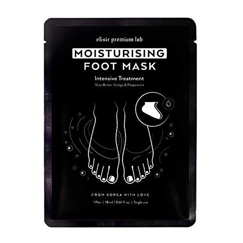 Moisturizing Foot Mask - Hydrating Socks for Women & Men - Spa Feet Treatment Booties - Best Korean Moisturizer for Dry Heel (1 - Mask Hydrating Foot