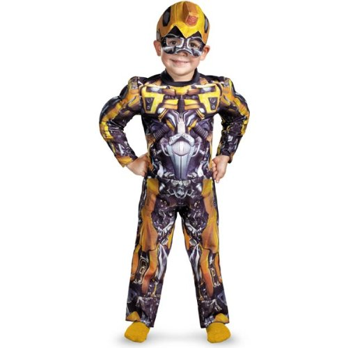 Stewie Costume For Kids (Bumblebee Muscle Toddler Costume - Toddler)