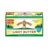 Land O Lakes Light Salted Butter Quarter, 4 Ounce - 4 per pack -- 12 packs per case.