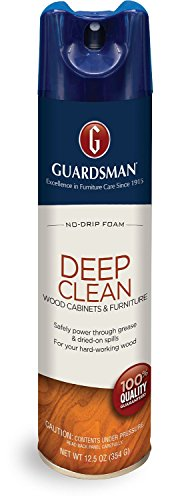 Guardsman Deep Clean - Purifying Wood Cleaner - 12.5 oz Streak Free, Doesn't Attract Dust 460500 by Guardsman