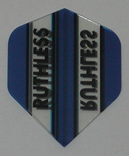 100 Micron 9 Flights Ruthless Mini Standard Blue Flights US Darts 3 Sets Xtra Tough