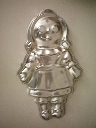 Wilton Storybook Girl Boy Doll Dolly Rag Raggedy Ann Andy Bride Groom Cake Pan (502-968, 1971) Retired