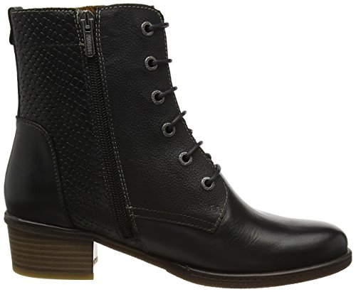 Black Boots Women's Brown Zaragoza i17 Black Pikolinos W9h IwqSdI0
