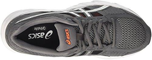 Asics Gel-Contend 4, Chaussures de Running Homme, Bleu Carbon/Argent/Shocking Orange
