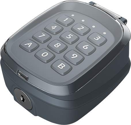 EG654 Eagle Chrome Wireless 2 Channel Keypad. Comparable with Eagle EG650 and EG652 Rolling Code Universal receivers