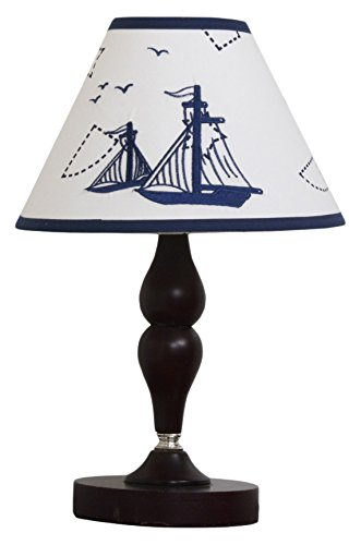 GEENNY Lamp Shade, Nautical Explorer (Nautical Lamp Shades)