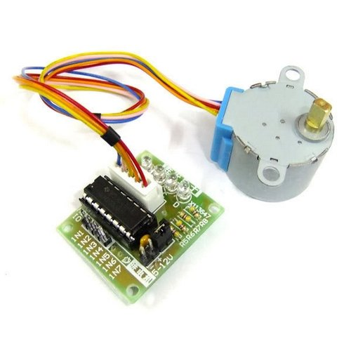 Price comparison product image RioRand Stepper Motor 5V DC 4-Phase 5-Wire with ULN2003 Driver Board