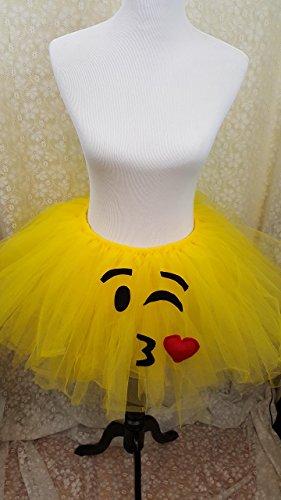 Children's Wink and Kiss Emoji Tutu ()