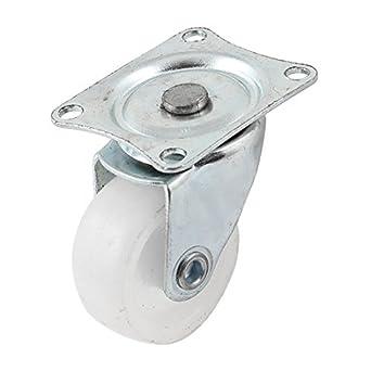 eDealMax a14030500ux0212 Dia rueda Fixed Tipo de las ruedas giratorias de Metal placa montada de goma