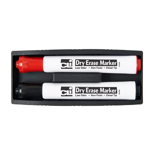 * MAGNETIC WHITEBOARD ERASER WITH TWO